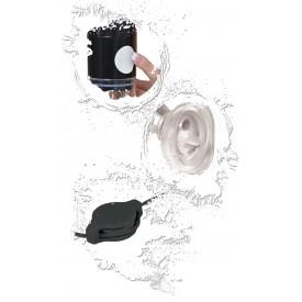 Универсальная женская помпа с вибратором Clit N' Tit Power Pump